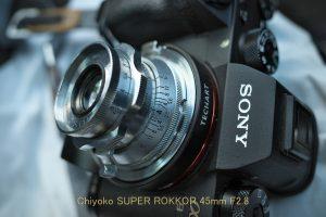 2019/9/3 α9 LM-EA7 SUPER ROKKOR 45mm