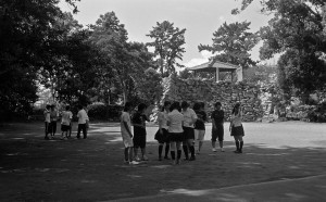 2012/8/31 神戸城址にて
